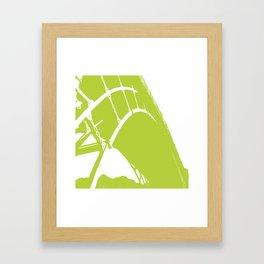 Ironbridge [Green] Framed Art Print