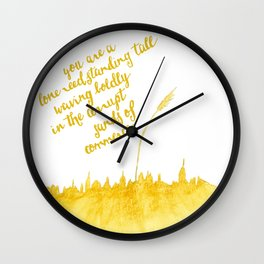 You've Got Mail- Lone Reed Wall Clock
