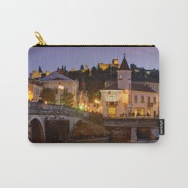 Tomar town centre, Portugal Carry-All Pouch