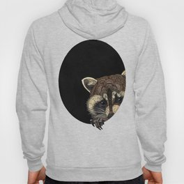Socially Anxious Raccoon Hoody