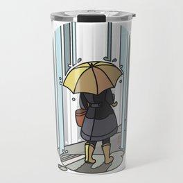 It's Pouring Travel Mug
