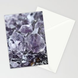 galaxy amethyst Stationery Cards