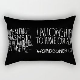 Orgasms Rectangular Pillow
