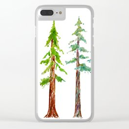 Tall Trees Please Clear iPhone Case