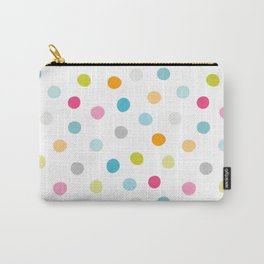 Chickweed Mid Dots Carry-All Pouch