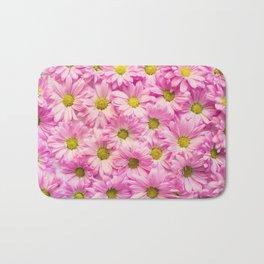Pink Daisy Bath Mat
