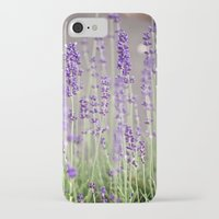 lavender iPhone & iPod Cases featuring Lavender by A Wandering Soul
