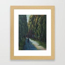 Poplar Road Framed Art Print