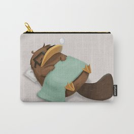 Nerdy Platypus Naptime Carry-All Pouch