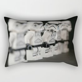 Storm trooper minifigure Rectangular Pillow