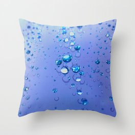 Drops Throw Pillow