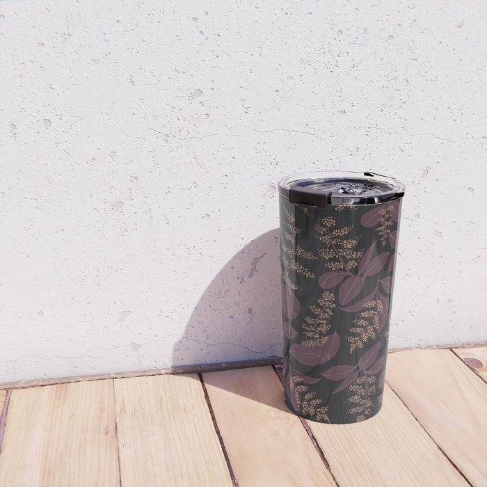 purpur // purple branches, delicate flowers Travel Mug