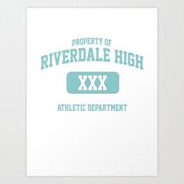 Riverdale Merch ® Riverdale High Archie KJ Apa Art Print