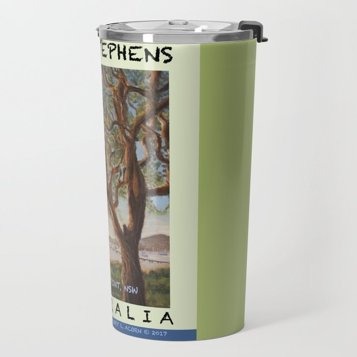 Travel Poster Soldiers' Point, NSW Travel Mug