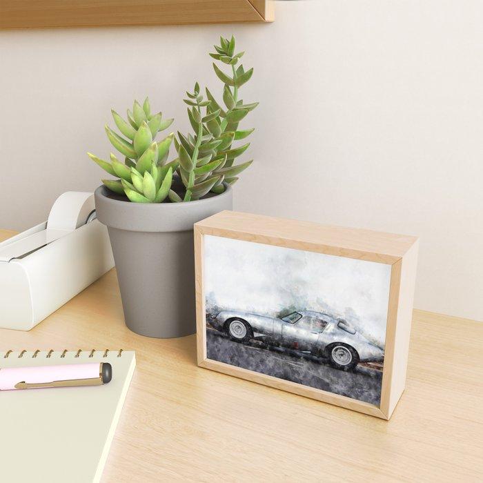 E-Type Lightweight Framed Mini Art Print