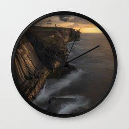 Loop Head in Ireland (RR 281) Wall Clock
