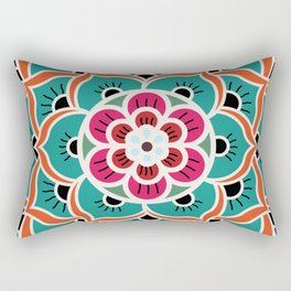 Desert Rose Rectangular Pillow