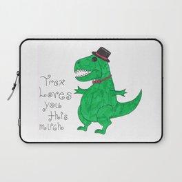 Trex loves you Laptop Sleeve