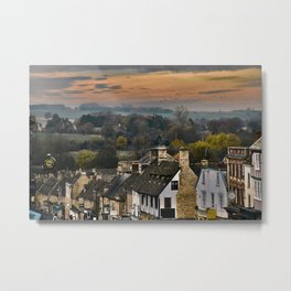 The Cotswolds in Color Metal Print