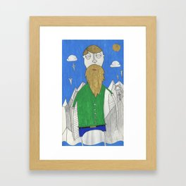 The Mountain Man Framed Art Print