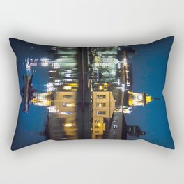 Night in the town Rectangular Pillow