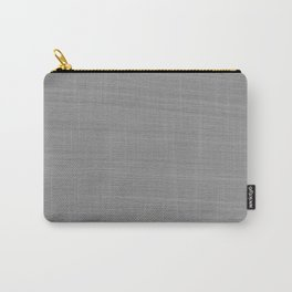 Soft Light Grey Brushstroke Texture Carry-All Pouch
