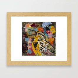 Meadowlark Framed Art Print