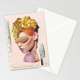 Die Kuchenfrau · hätt ich dich heut erwartet... Stationery Cards