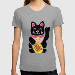 Lucky Black Cat T-shirt