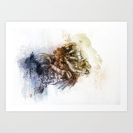 REFRESHER Art Print