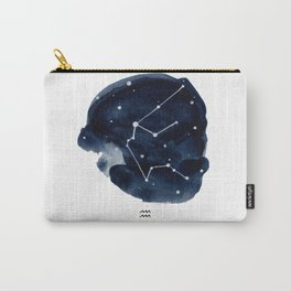 Zodiac Star Constellation - Aquarius Carry-All Pouch
