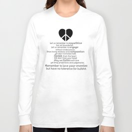 A New Pledge Long Sleeve T-shirt