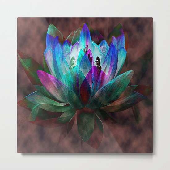 Lotus Land... Metal Print