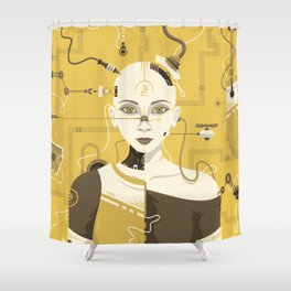 C-245 Shower Curtain