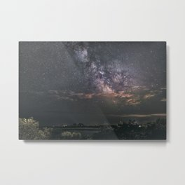 Milkyway at Loblolly Cove Metal Print