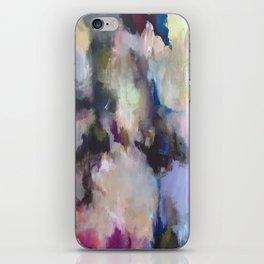 Colourful Abstract - Grandma's Garden iPhone Skin