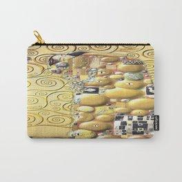 My Klimt- Embrace Carry-All Pouch