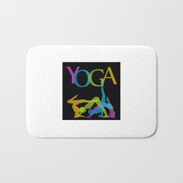 Yoga addicts Bath Mat