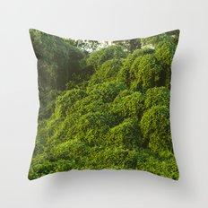 Jungle Plants in Pantanal, Brazil. Throw Pillow
