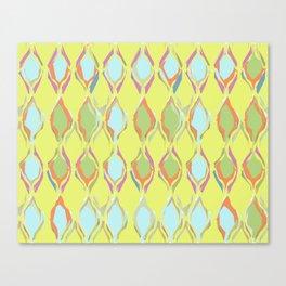 Pastel patterned Canvas Print