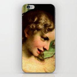 "Antonio Allegri da Correggio ""Madonna of St. Jerome""(detail) Angel iPhone Skin"