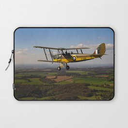 Tiger Moth in flight Laptop Sleeve