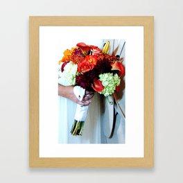 Wedded Bliss Framed Art Print