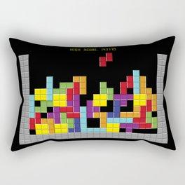 Tetris Rectangular Pillow