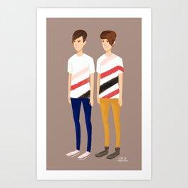 Tegan and Sara: TnS #1 Art Print