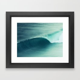 Perfect Wave Framed Art Print