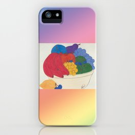 Beyond Color #1 - Bowl of Fruit iPhone Case