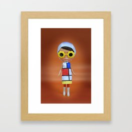 Mondrian Framed Art Print