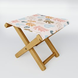 Seaweeds and sand Folding Stool