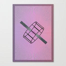 Geometric Calendar - Day 21 Canvas Print